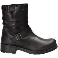 Topánky Deti Polokozačky Melania ME6843F8I.A čierna