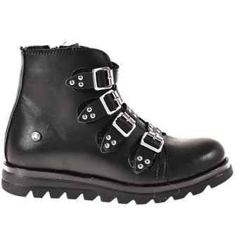 Topánky Deti Polokozačky Melania ME6614F8I.A čierna