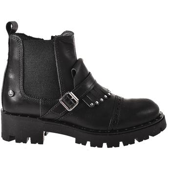 Topánky Deti Polokozačky Melania ME6621F8I.A čierna