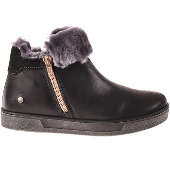 Topánky Deti Polokozačky Melania ME6633F8I.A čierna