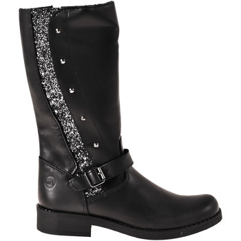 Topánky Deti Polokozačky Melania ME6814F8I.W čierna
