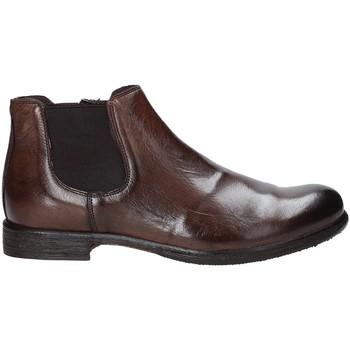 Topánky Muži Polokozačky Exton 3117 Hnedá