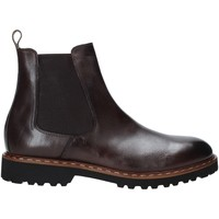 Topánky Muži Polokozačky Exton 9059 Hnedá