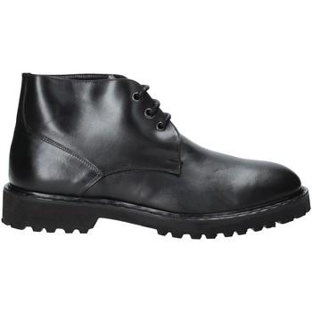 Topánky Muži Polokozačky Exton 9058 čierna