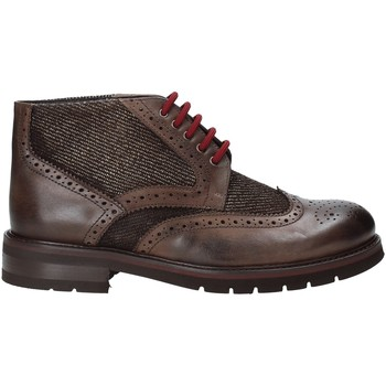 Topánky Muži Polokozačky Exton 63 Hnedá