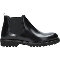 Topánky Muži Polokozačky Exton 465 čierna