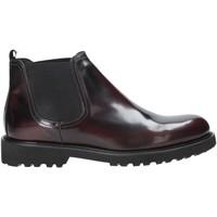 Topánky Muži Polokozačky Exton 465 Červená