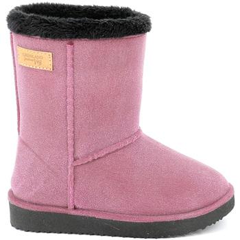 Topánky Deti Snehule  Grunland DO0294 Červená