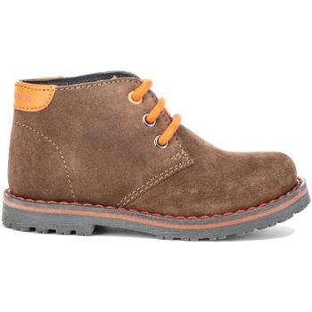 Topánky Deti Polokozačky Lumberjack SB64509 001 A01 Hnedá