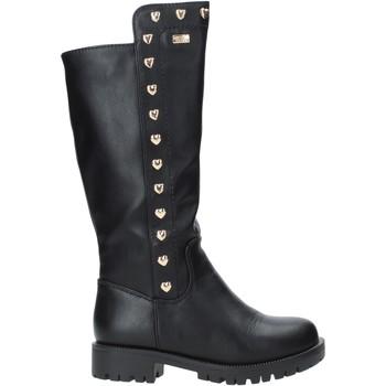 Topánky Deti Polokozačky Miss Sixty W19-SMS680 čierna