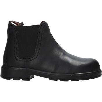 Topánky Deti Polokozačky Valleverde 36830 čierna