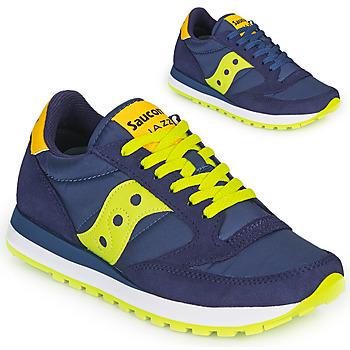 Topánky Nízke tenisky Saucony JAZZ ORIGINAL Modrá / Žltá