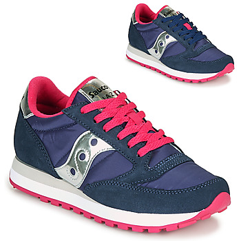 Topánky Ženy Nízke tenisky Saucony JAZZ ORIGINAL Modrá / Ružová