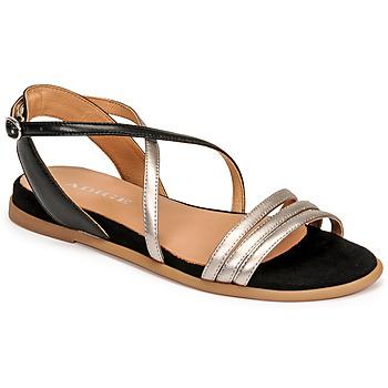 Topánky Ženy Sandále Adige IDIL V2 CENTURY ACERO Strieborná