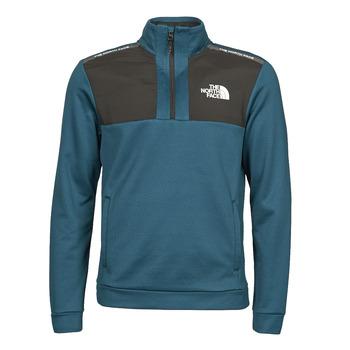 Oblečenie Muži Flísové mikiny The North Face MA 1/2 ZIP Modrá