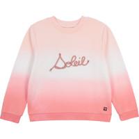 Oblečenie Dievčatá Mikiny Carrément Beau Y15373-N44 Biela / Ružová