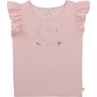 Oblečenie Dievčatá Tričká s krátkym rukávom Carrément Beau Y15378-44L Ružová