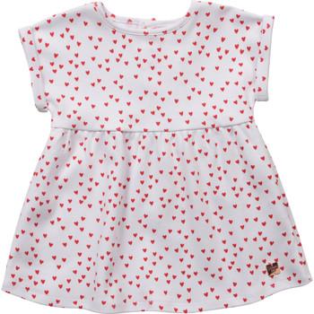 Oblečenie Dievčatá Krátke šaty Carrément Beau Y92119-10B Biela