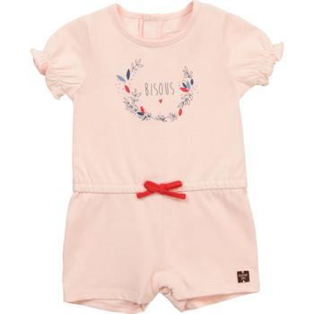 Oblečenie Dievčatá Módne overaly Carrément Beau Y94234-44L Ružová