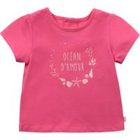 Oblečenie Dievčatá Tričká s krátkym rukávom Carrément Beau Y95270-46C Ružová