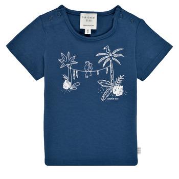 Oblečenie Chlapci Tričká s krátkym rukávom Carrément Beau Y95274-827 Námornícka modrá