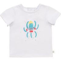Oblečenie Chlapci Tričká s krátkym rukávom Carrément Beau Y95275-10B Biela