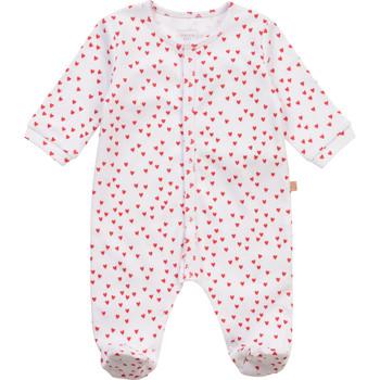 Oblečenie Dievčatá Pyžamá a nočné košele Carrément Beau Y97101-10B Biela