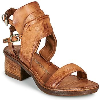 Topánky Ženy Sandále Airstep / A.S.98 KENYA BUCKLE Ťavia hnedá