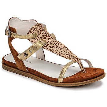 Topánky Ženy Sandále Regard BAZUR2 Hnedá