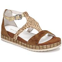 Topánky Ženy Sandále Regard CASSIS Hnedá