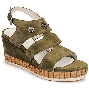 Topánky Ženy Sandále Regard DOLLIS Kaki
