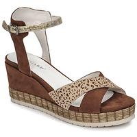 Topánky Ženy Sandále Regard DOUAI Hnedá