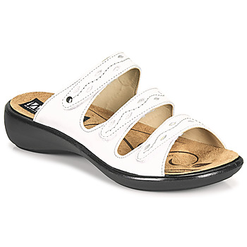 Topánky Ženy Šľapky Romika Westland IBIZA 66 Biela