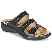 Topánky Ženy Šľapky Romika Westland IBIZA 66 Čierna