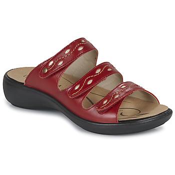 Topánky Ženy Šľapky Romika Westland IBIZA 66 Červená