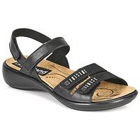 Topánky Ženy Sandále Romika Westland IBIZA 86 Čierna