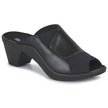 Topánky Ženy Šľapky Romika Westland ST TROPEZ 244 Čierna