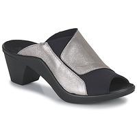 Topánky Ženy Šľapky Romika Westland ST TROPEZ 244 Čierna / Zlatá