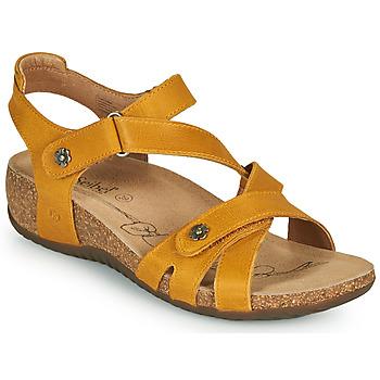 Topánky Ženy Sandále Josef Seibel NATALYA 11 Žltá