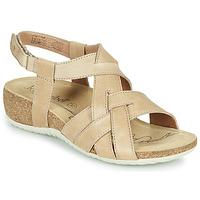 Topánky Ženy Sandále Josef Seibel NATALYA 16 Béžová