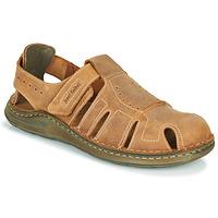 Topánky Muži Sandále Josef Seibel MAVERICK 01 Hnedá