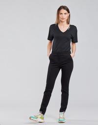 Oblečenie Ženy Nohavice päťvreckové Karl Lagerfeld SUMMERPUNTOPANTS Čierna