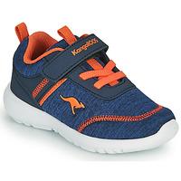 Topánky Chlapci Nízke tenisky Kangaroos KY-CHUMMY EV Modrá / Oranžová