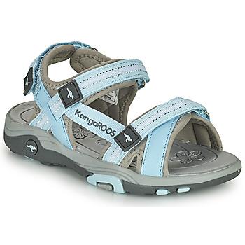 Topánky Deti Sandále Kangaroos K-LENI Modrá / Šedá