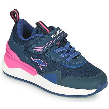 Topánky Dievčatá Nízke tenisky Kangaroos KD-GYM EV Modrá / Ružová