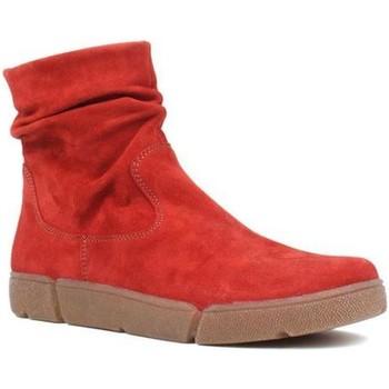 Topánky Ženy Polokozačky Ara Om St High Soft Red