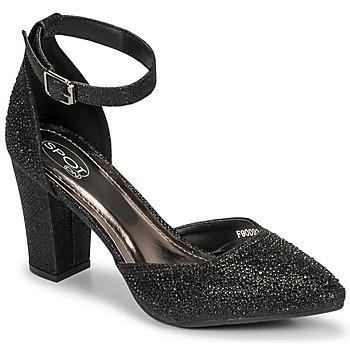 Topánky Ženy Sandále Spot on F90092 Čierna