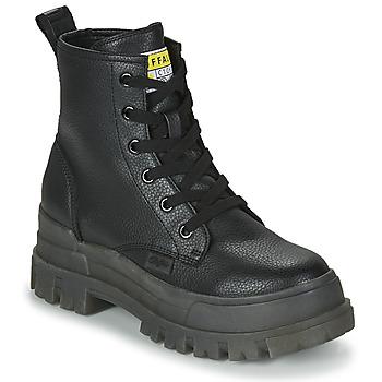 Topánky Ženy Polokozačky Buffalo ASPHA RLD Čierna