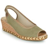 Topánky Ženy Espadrilky Damart 43775 Kaki