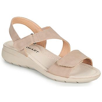 Topánky Ženy Sandále Damart 67808 Béžová / Ružová